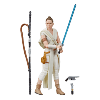 STAR WARS THE VINTAGE COLLECTION 3.75-INCH Figure Assortment REY - oop
