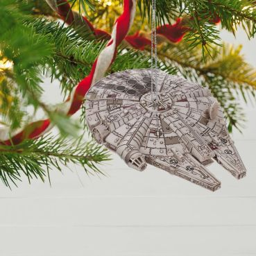 Star Wars™ Millennium Falcon™ Ornament With Light and Sound