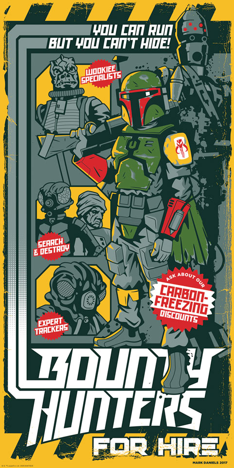 'Bounty Hunters' for Hire by Mark Daniels