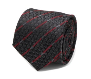 Darth Vader Black Lightsaber Stripe Men's Tie
