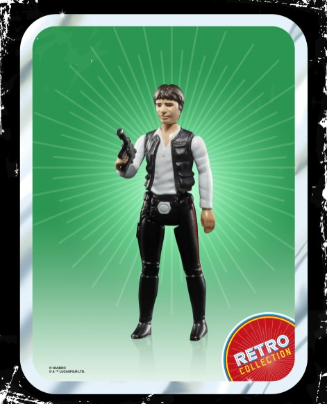 Star Wars Retro Han Solo oop