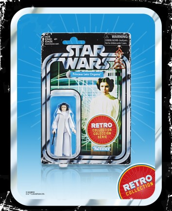 Star Wars Retro Princess Leia in pck