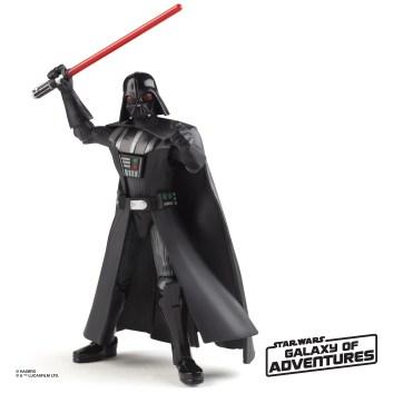 STAR WARS GALAXY OF ADVENTURES 5-INCH Figure Assortment - Darth Vader (oop 3)