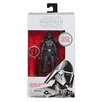 STAR WARS THE BLACK SERIES 6-INCH SECOND SISTER INQUISITOR Figure - First Edition pckging copy