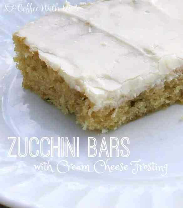 Zucchini Bars with Cream Cheese Frosting 3