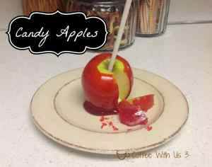 Candy Apples 1