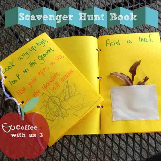 Scavenger Hunt Book