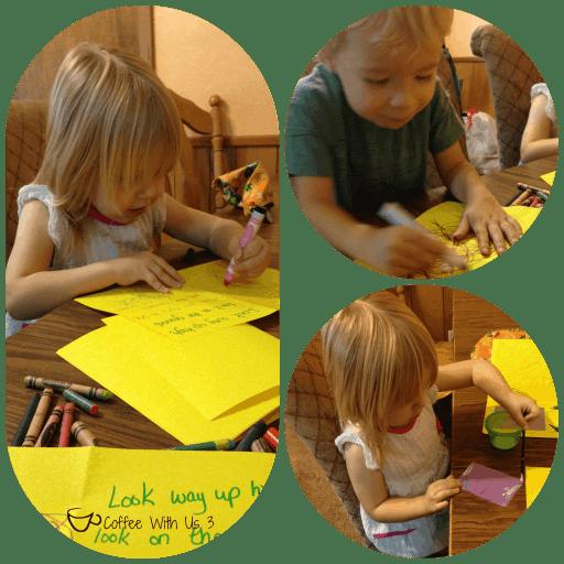 Making Scavenger Hunt Book