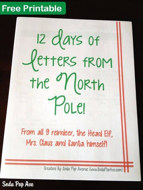 12 Letters of Christmas Banner 2
