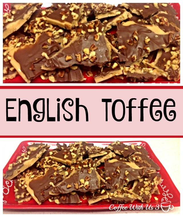 Chocolate, Toffee, & Nuts combine for a delicious and hard to resist treat. English Toffee is perfect for Christmas or any time of the year!