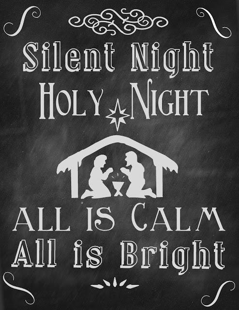 Silent Night 8x10
