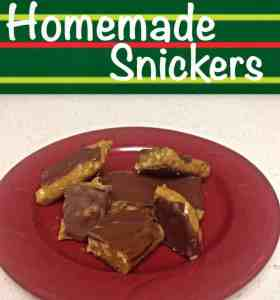 If you've never had homemade snickers before, you're missing out!  So much better than store bought!