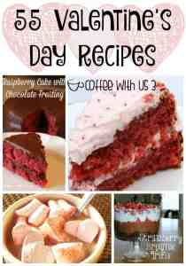 Do you love Valentine's Day? Try some of these 55 amazing Valentine's Day recipes!