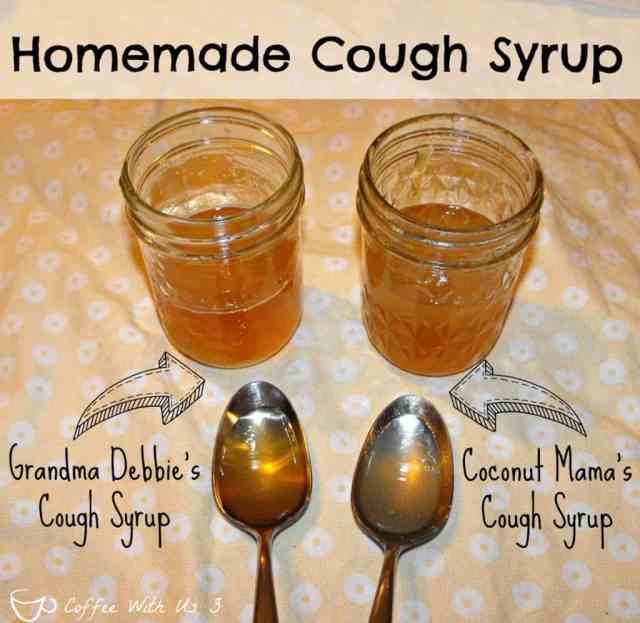 Homemade Cough Syrup-- Did you know you can make your own cough syrup? How cool is that?!? No more dyes, synthetic ingredients, just simple, real ingredients!