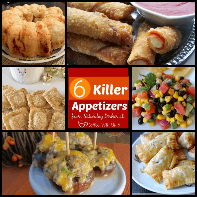 6 Killer Appetizers