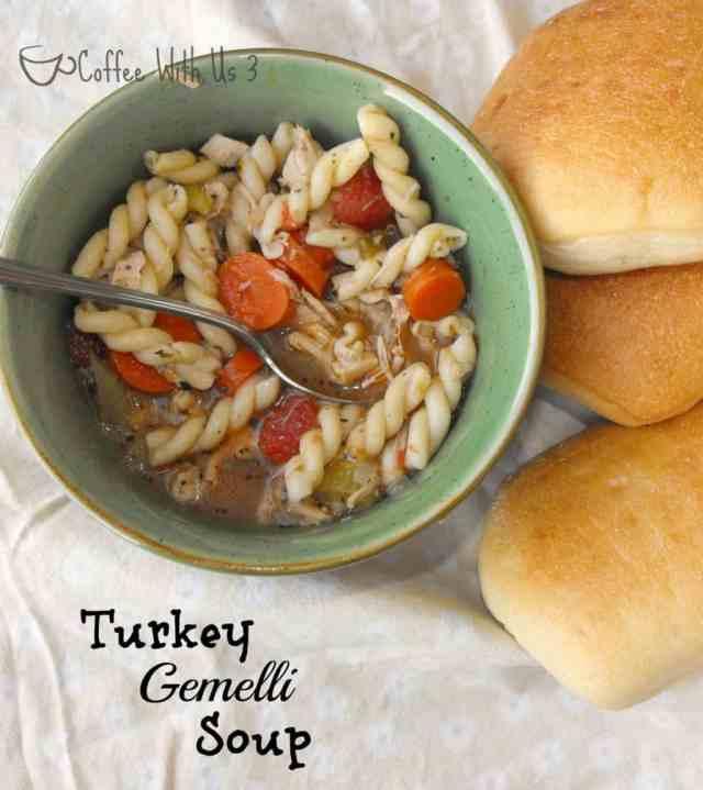 Turkey Gemelli Soup 2