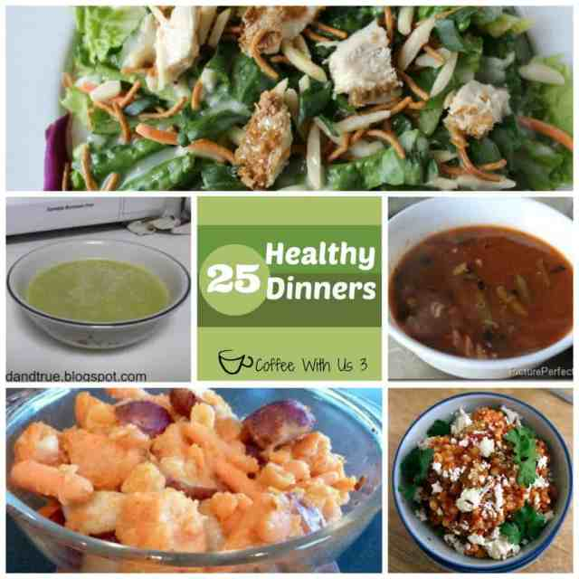 25 Healthy Dinners by Coffee With Us 3
