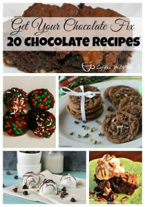 Chocolate Lovers Rejoice!! 20 great Chocolate recipes perfect for valentine's day or anytime!!