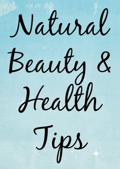 Beauty Health Tips