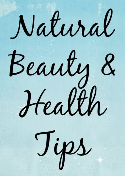 Beauty Health Tips