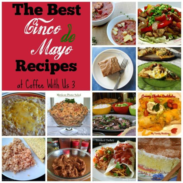 The best Mexican and Tex-Mex Recipes for Cinco de Mayo!   cinco de mayo   Mexican   recipes  