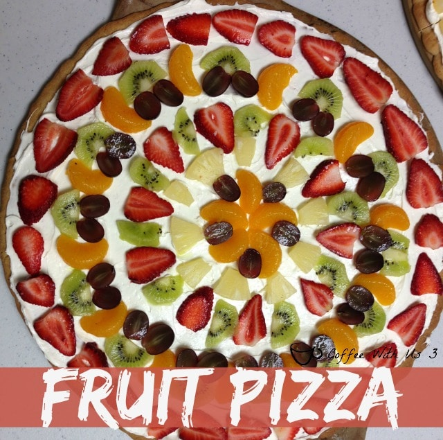 fruit pizza from Coffee With Us 3