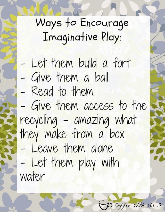 Ways to Encourage Imaginative Play  #sp #StuntHunt #fruitshoot