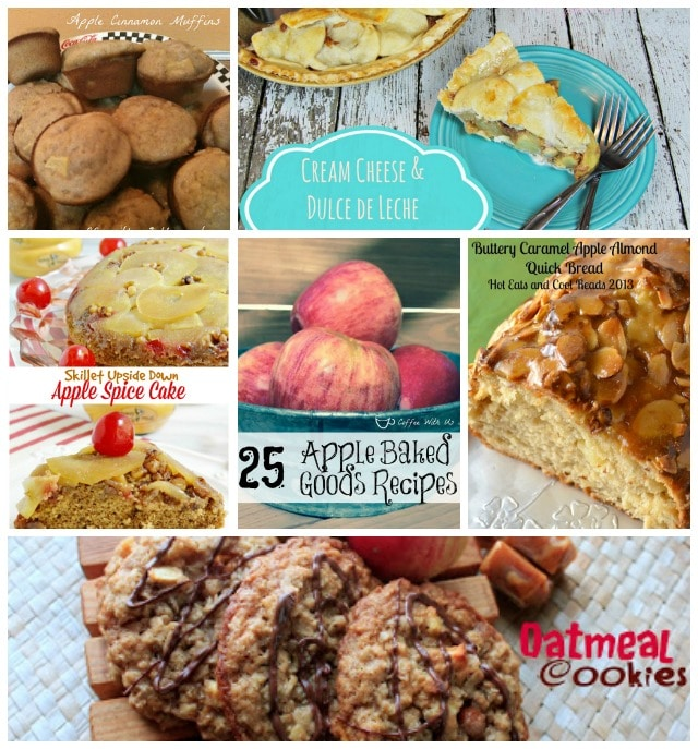 25 Apple Baked Goods Recipes: Pies, cupcakes, breads, & much more from some of the best bloggers
