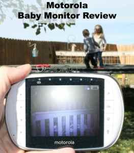 Motorola Baby Monitor Outside1