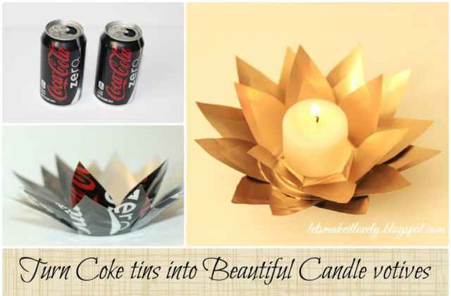DIY Coke tin Flower