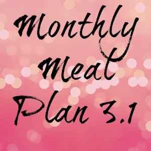 Meal plan 3.1