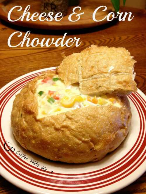 Cheese & Corn Chowder1