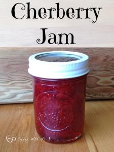Cherberry Jam - a combination of cherries & strawberries - is my new favorite jam. Try it and I bet it will soon be your favorite too!