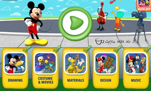 Mickey's Magical Art World is the newest installment from Disney Imagicademy.  It promote creativity, imagination and a love of art & music.
