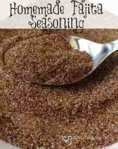 Homemade Fajita Seasoning - All the flavor with no msg or other junk