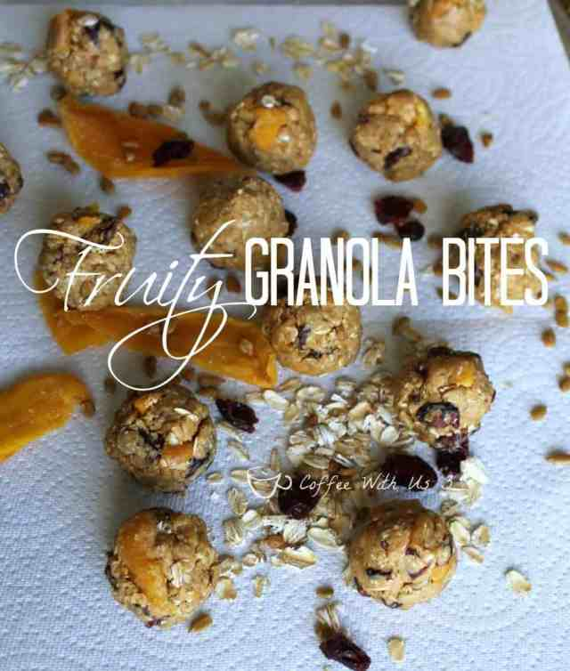 Fruity Granola Balls are delicious and healthy snacks!