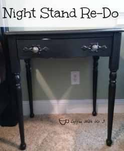 Night Stand Re-D0 - Instead of buying a $300 nightstand that matched my bed frame, I did this instead!