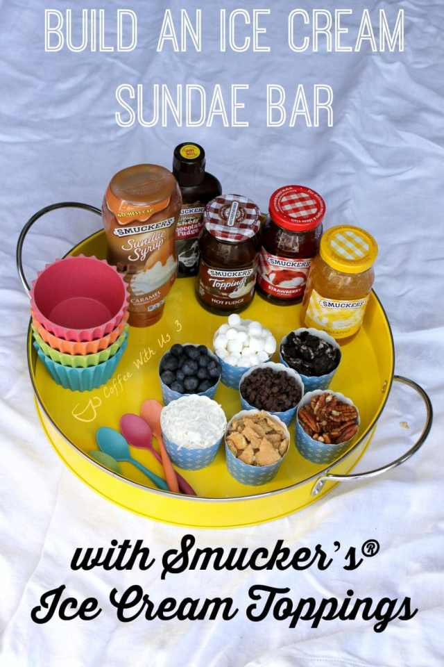 Make Every Day a Sundae. Learn how easy it is to make a Sundae bar! Includes 5 fabulous recipes! #sp