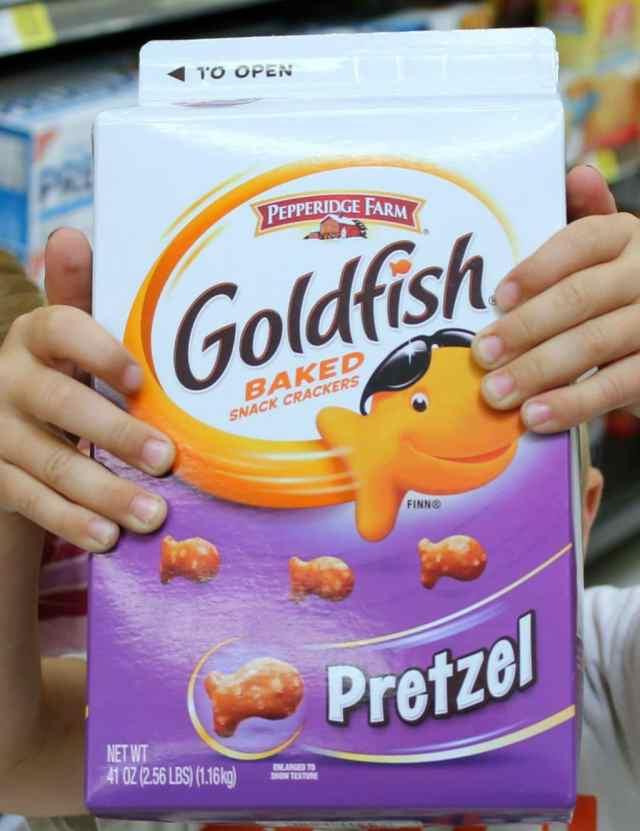 Goldfish Crackers Pretzel