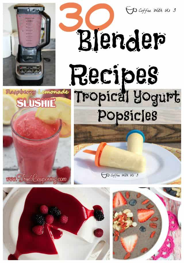 Smoothies, Milk Shakes, Sauces, Popsicles, and to prep ingredients for other dishes; it's amazing what you can use a blender for!
