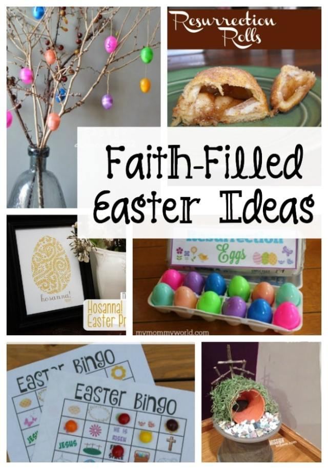 9 Faith-filled Christian Easter Ideas to help you and your family remember what Easter is all about!