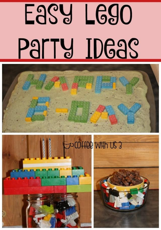 Easy Lego Party Ideas if your on a budget or can't find Lego party decor!!
