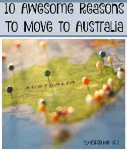 Thinking of moving to Australia? Or just feel like daydreaming? Just out 10 awesome reasons to move to Australia!