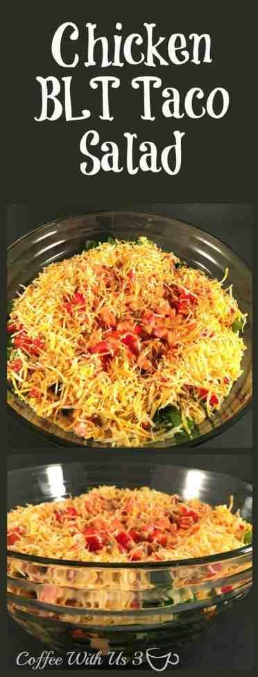 Chicken BLT Taco Salad 1