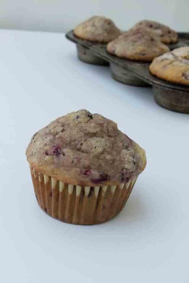Raspberry Chocolate Chip Muffins 2