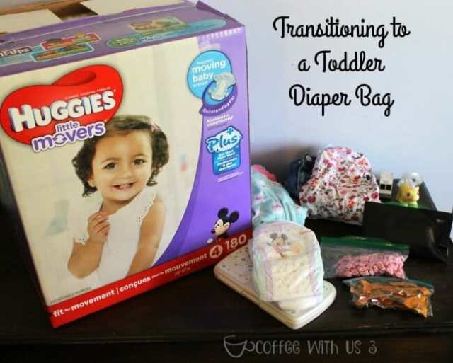 Transitioning to a Toddler Diaper Bag 3