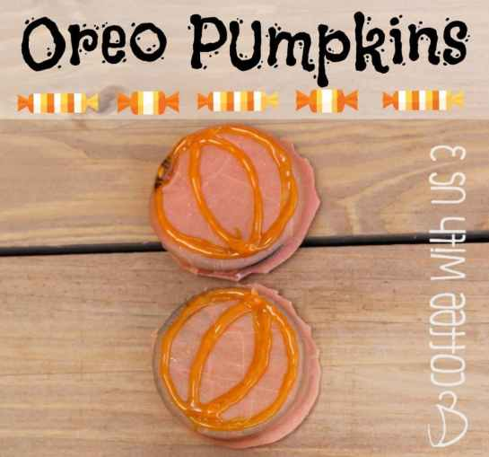 Seasonal & fun! These Oreo pumpkins are sure to be a fall favorite at your house!