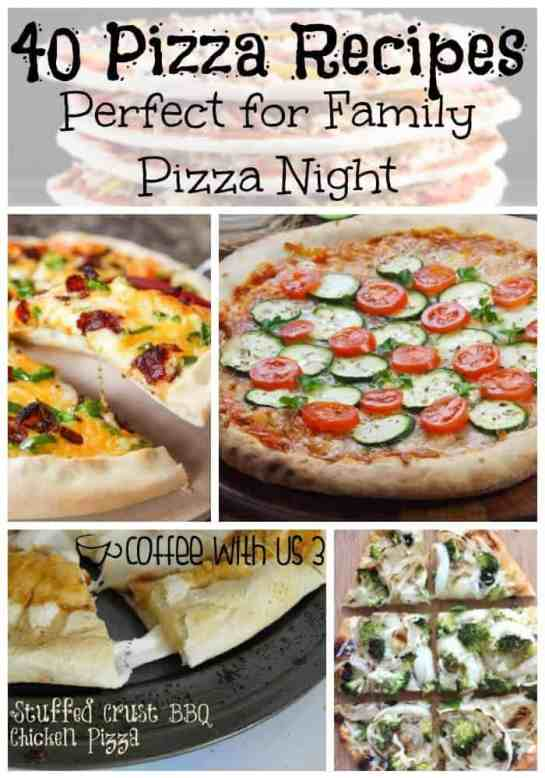 Does your family love pizza? Mine does! Check out these great family pizza night recipes! Perfect for any taste with low carb, veggies, or meat lover options!