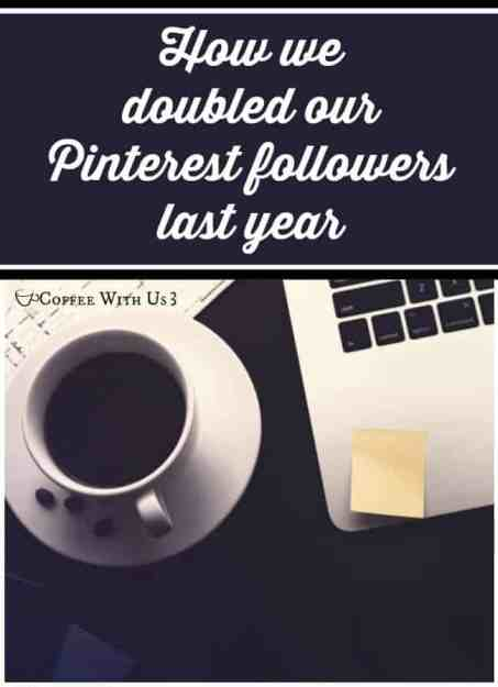 Find out how we doubled our Pinterest followers this year, so you can too!