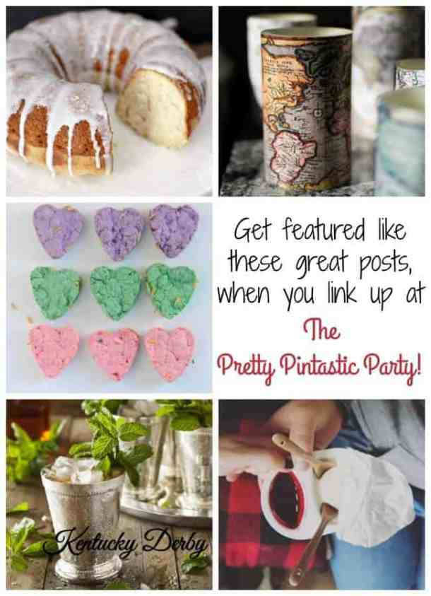 Join The Pretty Pintastic Party, where ever link gets pinned, and features are pinned by all!